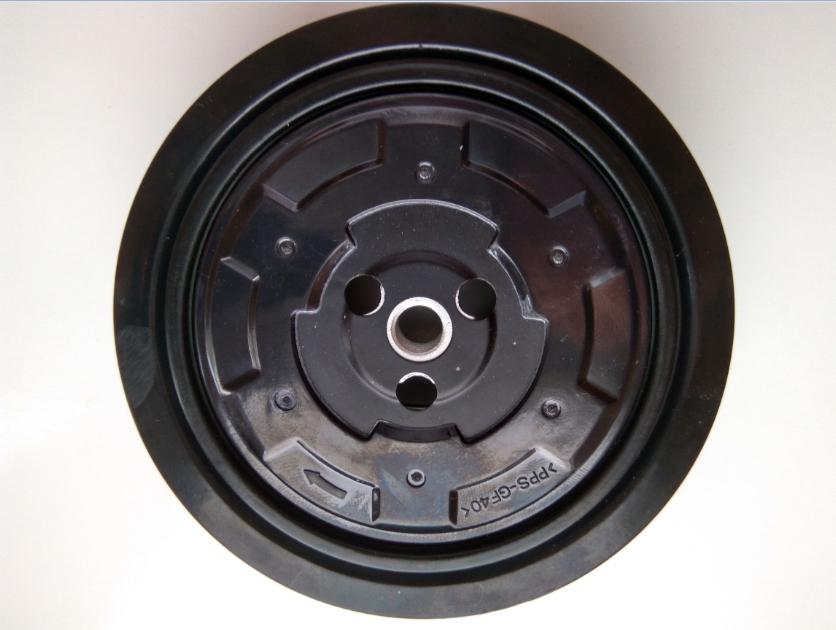 Муфта компрессора кондиционера Audi Q7 [4L]